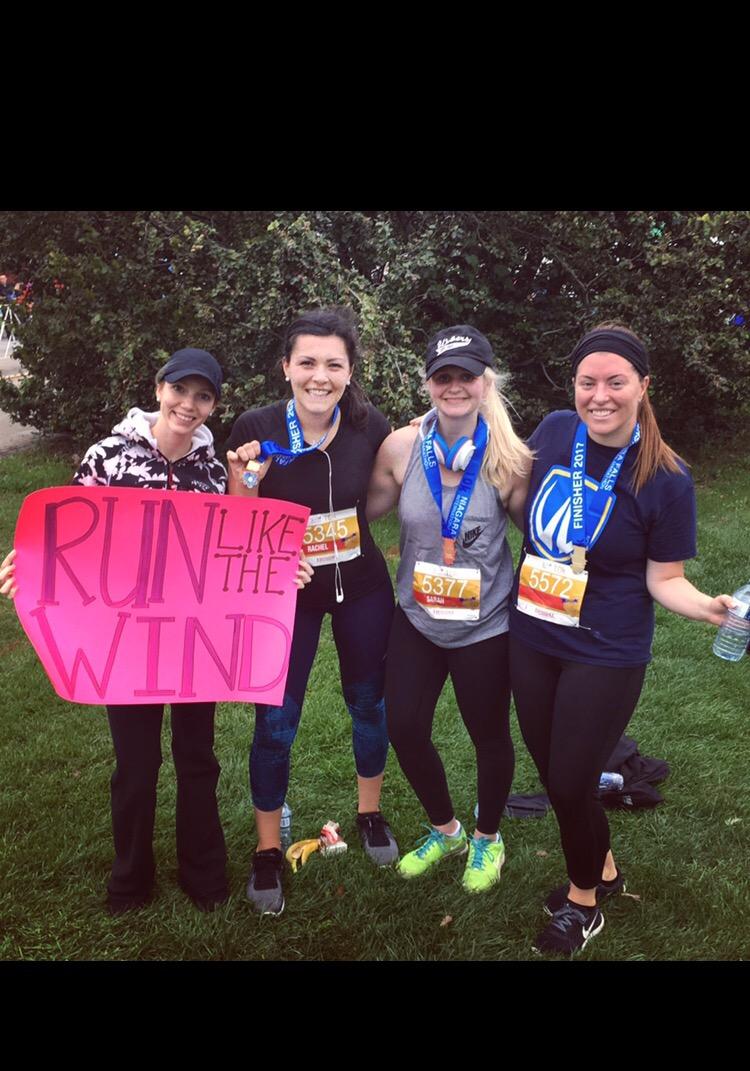Inspiring Runners ! Niagara Marathon Race Review