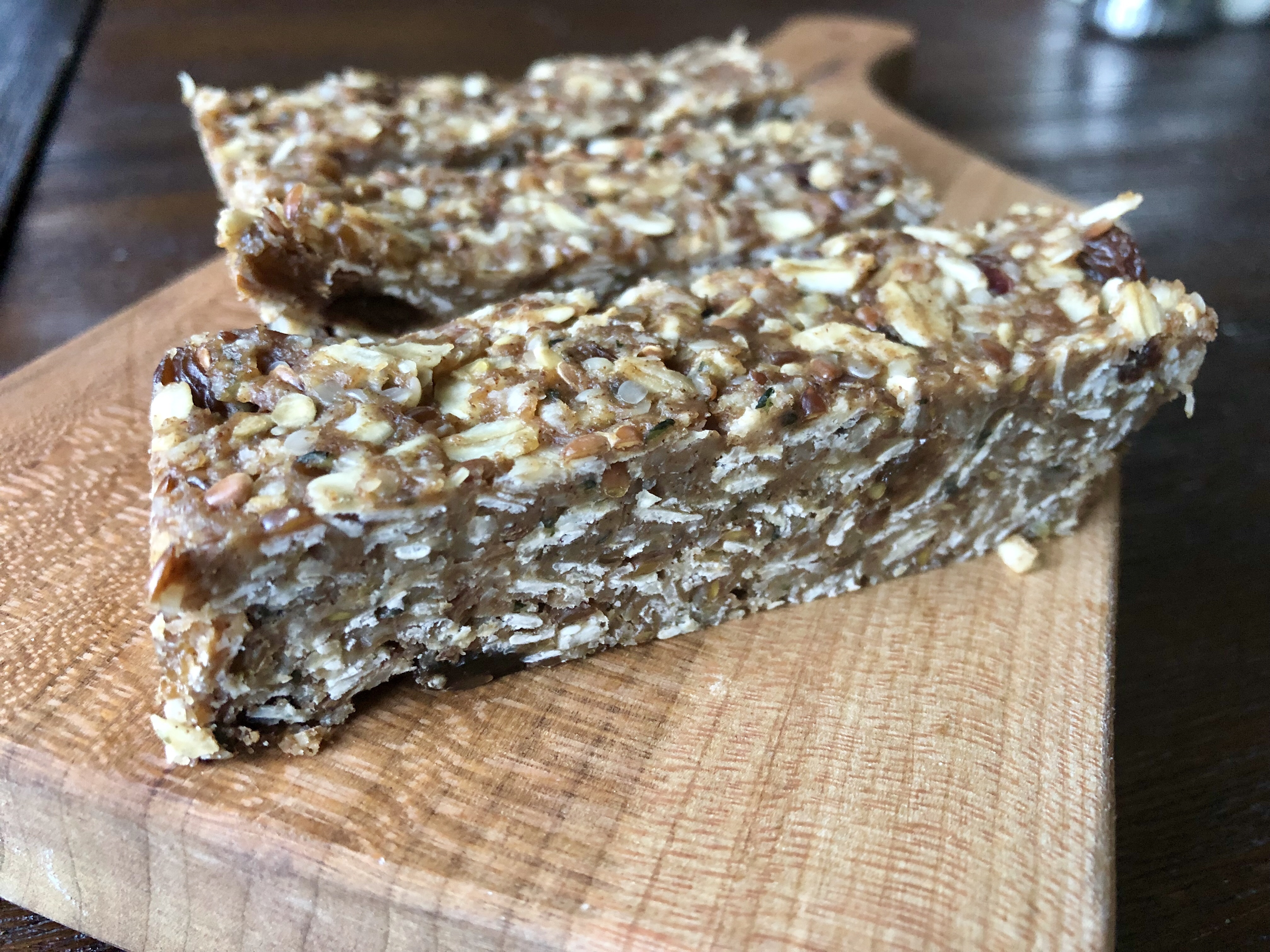 No Bake DIY Granola Bars